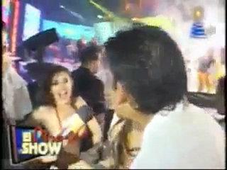 Liliana Mass sin calzon y bailando reggaeton