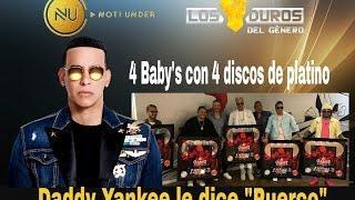 Daddy Yankee le dice puerco a quien?,Juhn dice zumben Caliente, 4 Babys 4 discos de platino