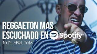 Top 30 Canciones Mas Escuchadas En Spotify | 10 Abril 2018
