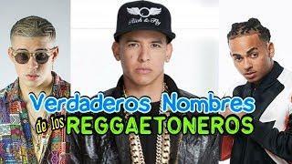 Así se llaman los cantantes de Reggaeton