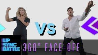 LSB 360 Face-Off: Ricky Martin vs. Kate Upton | Lip Sync Battle