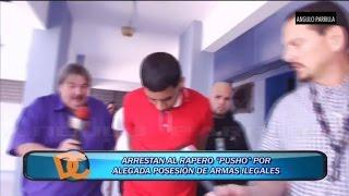 VIDEO COMPLETO DEL ARRESTO DE PUSHO (Pusho Arrestado) #FreePusho