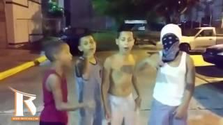 """Estos chamaquitos se fueron lejos con este """"Mix"""" acapella de canciones de reggaeton"""