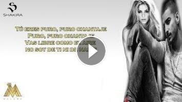 Shakira Ft Maluma Chantaje Letra