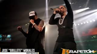 """Wisin y Yandel juntos en el concierto """"Dangerous"""" de Yandel en el Choli 2016"""