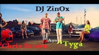 Chris Brown & Tyga ft. DJ ZinOx - Ayo [Reggaeton Remix 2015]