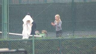 Shakira inicia a Sasha en el mundo del tenis