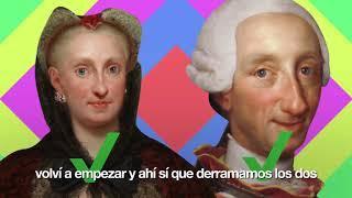 Carta REAL de Carlos III (Borbón) a sus padres explicando su noche de bodas (REGGAETON VERSION)