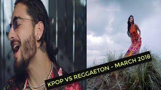 KPOP VS REGGAETON MARCH | MARZO 2018, PERSONAL TOP 20