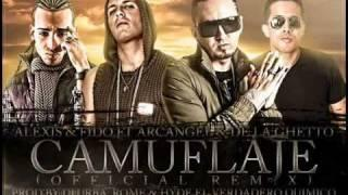 Camuflaje (Oficial Remix) - Alexis  Fido Ft. Arcangel y De La Ghetto - REGGAETON 2011