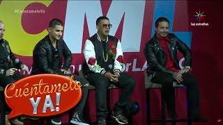 Maluma, J. Balvin y Daddy Yankee comparten su vida en conferencia | Cuéntamelo YA!
