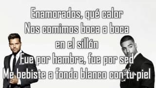 Vente pa' ca LETRA - Ricky Martin Ft  Maluma