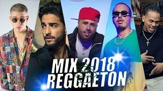 Reggaeton Mix Abril 2018 Lo Mas Nuevo Estrenos Reggaeton 2018 Maluma, Ozuna, Bad Bunny, Nicky Jam