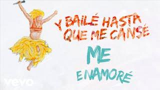 Shakira - Me Enamoré (Official Lyric Video)
