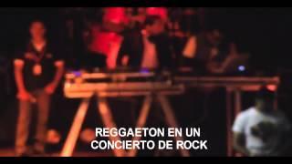 DJ FAILS - ERROR DE UN DJ  TOCAR REGGAETON EN CONCIERTO DE ROCK