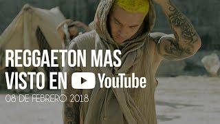 Top 30 Canciones Mas Vistas En Youtube | 08 Febrero 2018