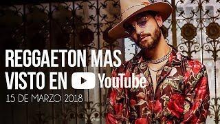 Top 30 Canciones Mas Vistas En Youtube | 15 Marzo 2018