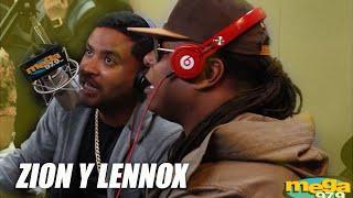 Zion y Lennox improvisando en El Vacilón de la Mañana