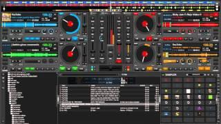 Virtual Dj 8 (4 decks) - Reggaeton 2015( JBalvin,Nicky Jam, Daddy Yankee, etc.)