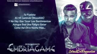 Embriagame (Con Letra) Zion Y Lennox (Original) 2016