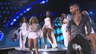 Maluma Featuring Fifth Harmony - Sin Contrato (Live @ Latin Grammy Awards 19-11-2015)