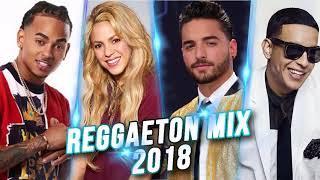 Reggaeton 2018 - Maluma, Daddy Yankee, Ozuna, Shakira, Bad Bunny, Wisin - Reggaeton Nuevo 2018
