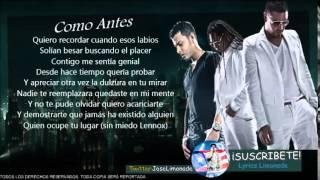(LETRA) Tito El Bambino Ft. Zion y Lennox - Como Antes