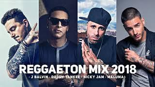 Reggaeton Party Mix 2018  Best Of Reggaeton 2018