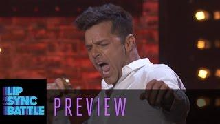 "Ricky Martin performs ""Old Time Rock and Roll"" 