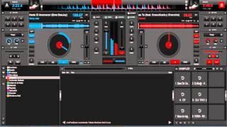 Mezcla De Reggaeton A Cumbia En Virtual Dj 2016 HD Dj Arman