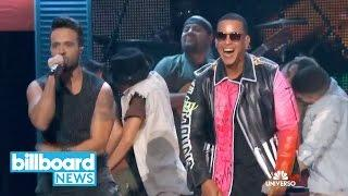 Luis Fonsi & Daddy Yankee Give First-Live Performance of 'Despacito'   Billboard News