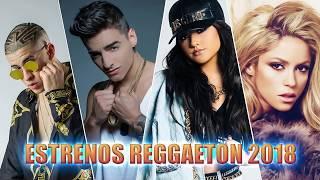 Estrenos Reggaeton y Música Urbana Marzo 2018 Bad Bunny, Maluma, Ozuna, Shakira , Nicky Jam, Wisin