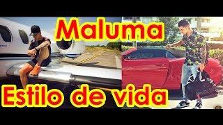 MALUMA lujos y estilo de vida en un video (pretty boy dirty boy)
