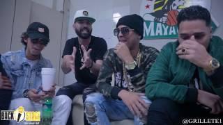 """Noriel, Jon z, Juhn El Allstar y Santana se deciden """"Trap o Reggaeton?"""